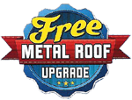 Derksen Buildings free metal roof A+ Sheds and Carports San Antonio, Texas